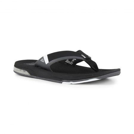 Reef Fanning Low Sandals - Black / White