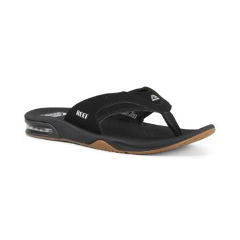 Reef Fanning Sandals - Black / Silver