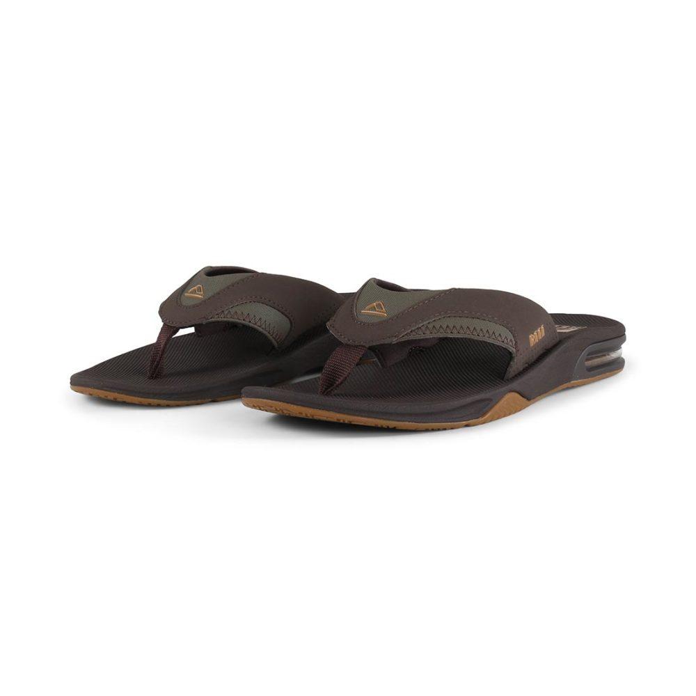 Reef Fanning Sandals - Brown / Gum