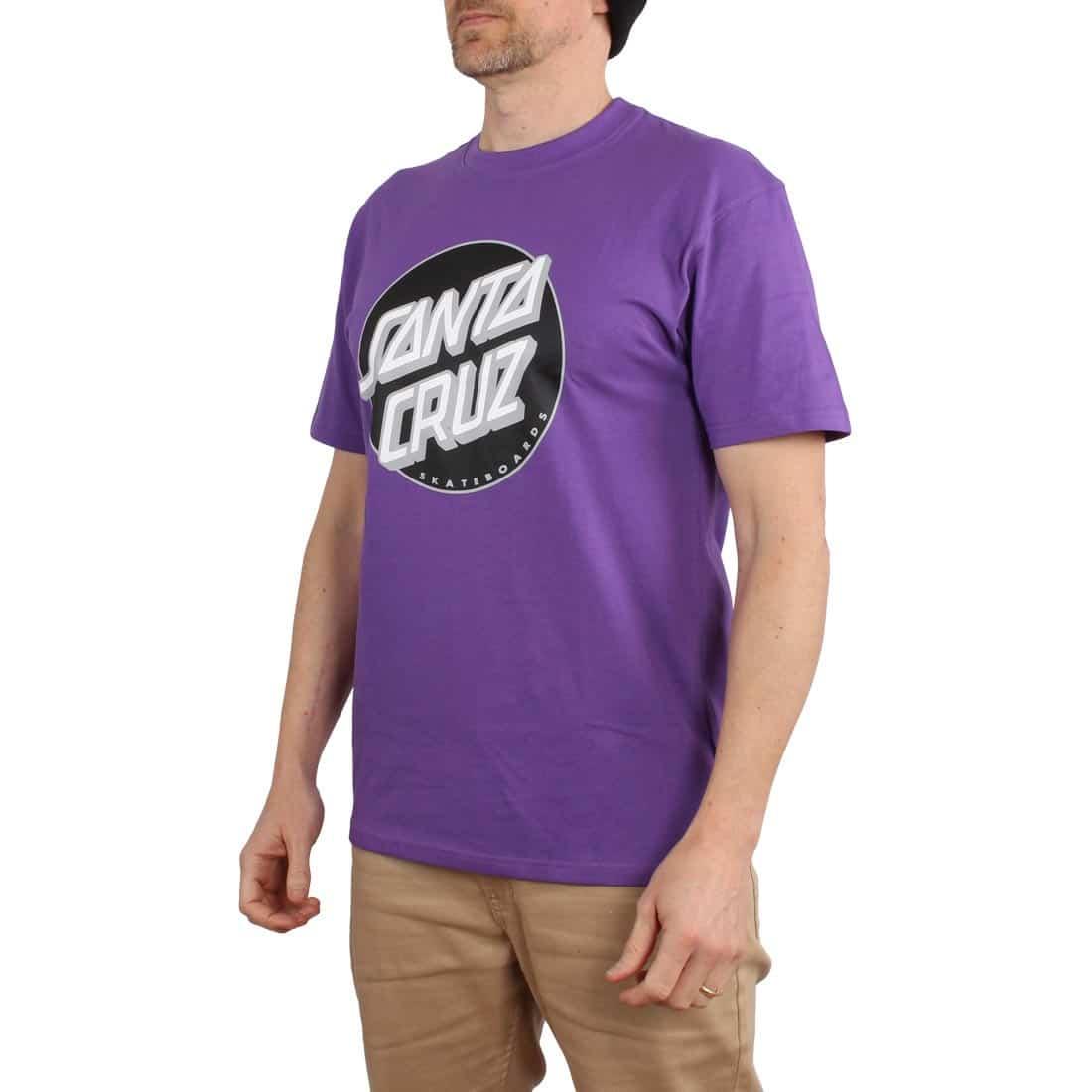 Santa Cruz Classic Dot S/S T-Shirt - Purple