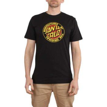 Santa Cruz Fisheye MFG S/S T-Shirt - Black