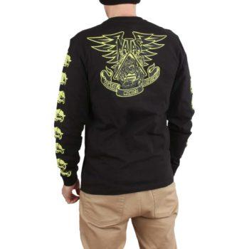 Santa Cruz Natas Panther L/S T-Shirt - Black