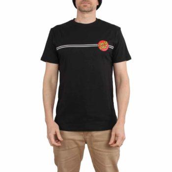 Santa Cruz OG Classic Dot S/S T-Shirt - Black