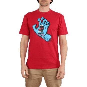 Santa Cruz Screaming Hand S/S T-Shirt - Deep Red