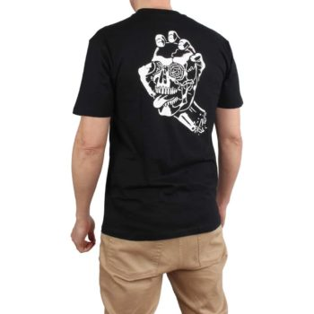 Santa Cruz Screaming Skull S/S T-Shirt - Black