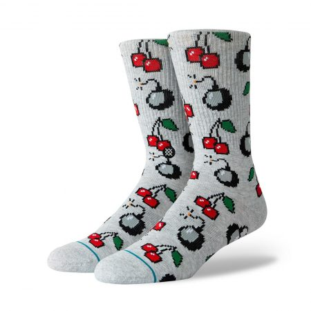 Stance Cherry Bomb Socks - Heather Grey