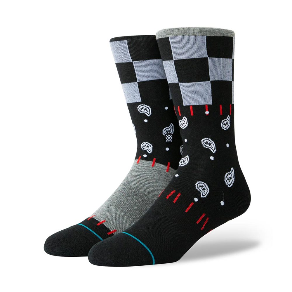Stance-Discontent-Socks-Black