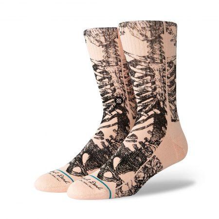Stance x Grateful Dead Bertha Socks - Pink