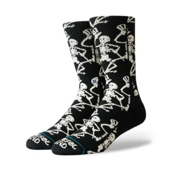 Stance x Grateful Dead Grateful Skulls Socks - Black