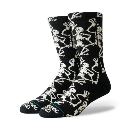 Stance x Grateful Dead Grateful Skulls Socks - Black