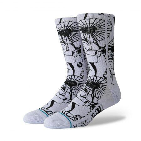 Stance Kimono Socks - Violet