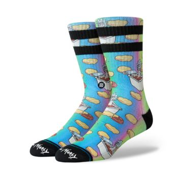 Stance x Rick and Morty Dipping Sauce Socks - Multi