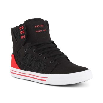 Supra Skytop Shoes - Black / Pirate Black / White