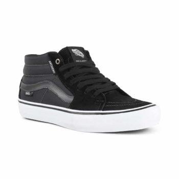 Vans x Anti Hero Sk8-Mid Pro Skate Shoes - Grosso / Black