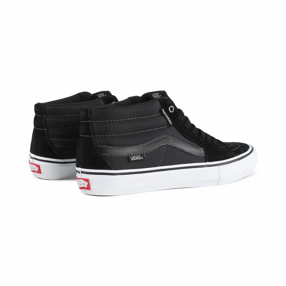 c7444c1a1a Vans x Anti Hero Sk8-Mid Pro Skate Shoes - Grosso   Black