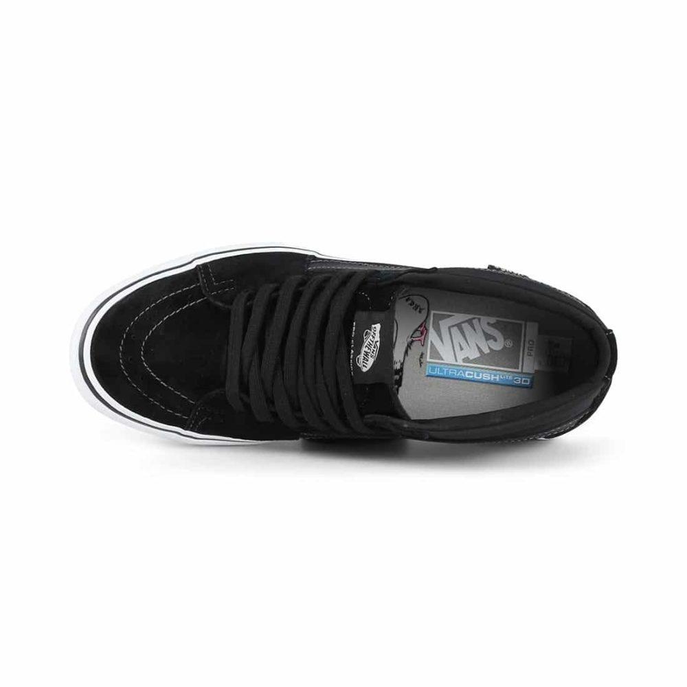 47ea14d16dd1 Vans x Anti Hero Sk8-Mid Pro Skate Shoes - Grosso   Black