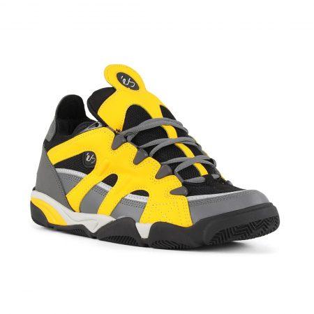 eS Scheme Shoes - Grey / Black / Yellow