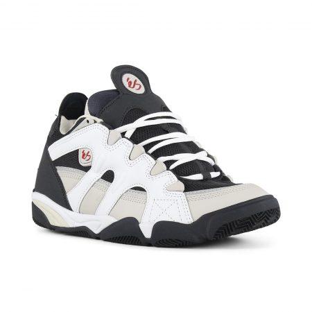 eS Scheme Shoes – White / Grey / Navy
