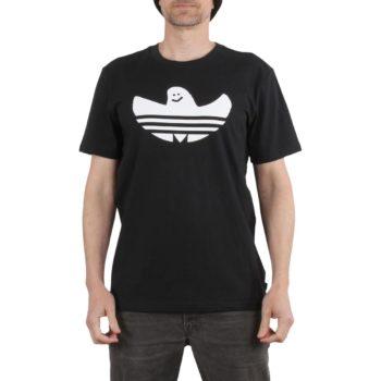 Adidas Solid Shmoo S/S T-Shirt - Black / White