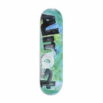 Almost Color Bleed HYB Skateboard Deck Teal