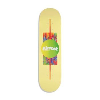 Almost Gradient HYB 8.125″ Skateboard Deck – Yellow