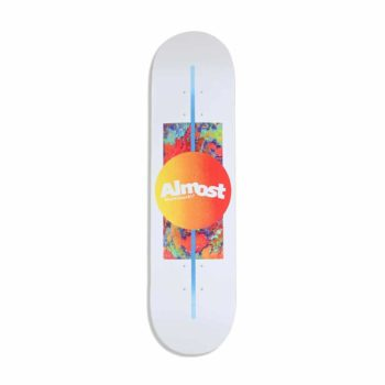 Almost Gradient HYB 8″ Skateboard Deck – White