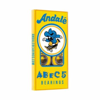 Andale Abec 5 Skateboard Bearings (8 Pack) - Yellow