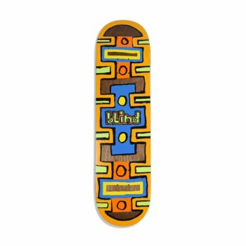 Blind Square Space HYB 8.25″ Skateboard Deck – Black