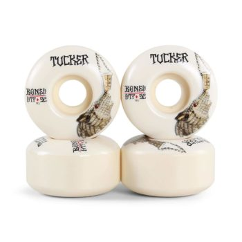 Bones Nick Tucker Wolf Chain STF V1 Series 52mm Wheels - White