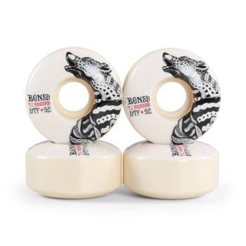 Bones TJ Rogers Wolf STF V3 Series 52mm Wheels - White