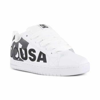 DC Shoes Court Graffik SE - White / Cement