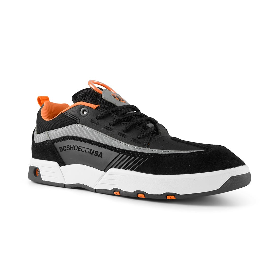 c3b69246c1b5be DC Shoes Legacy 98 Slim S – Black / Orange / Grey