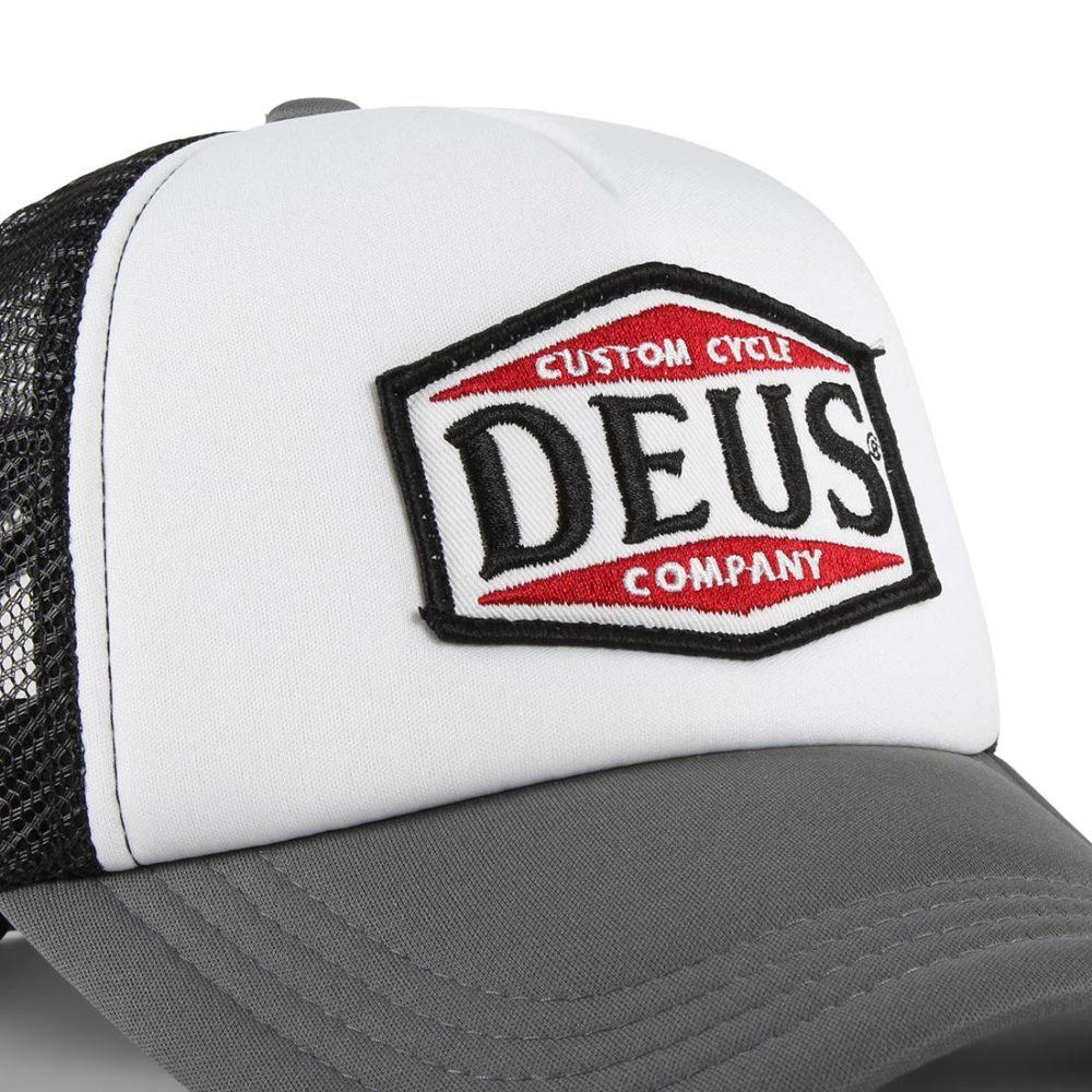 Deus Ex Machina American Twin Mesh Back Trucker Cap - Black