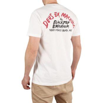 Deus Ex Machina Paul McNeil Venice S/S T-Shirt – Vintage White
