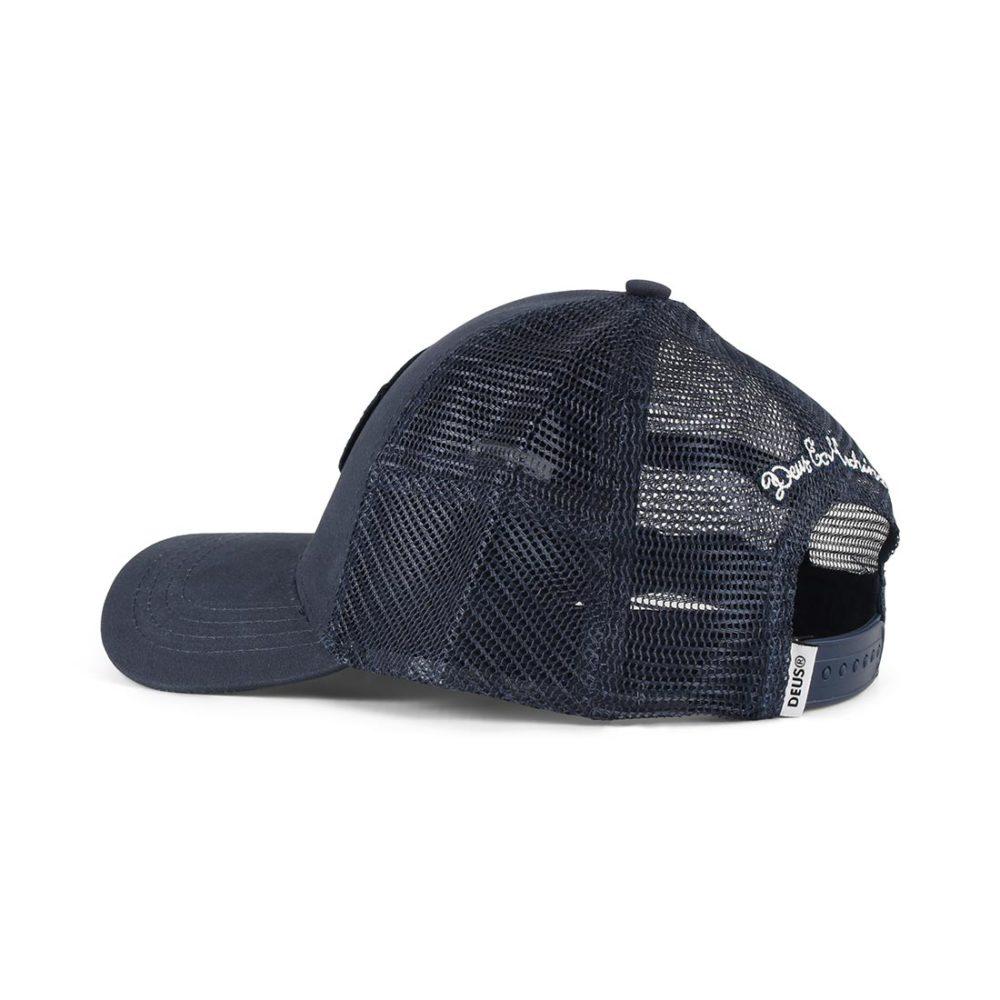 Deus-Ex-Machina-Woven-Shield-Mesh-Back-Trucker-Cap-Navy-03