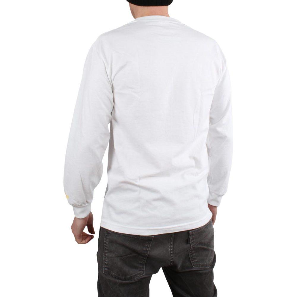 Enjoi Skateboards Panda L/S T-Shirt - White