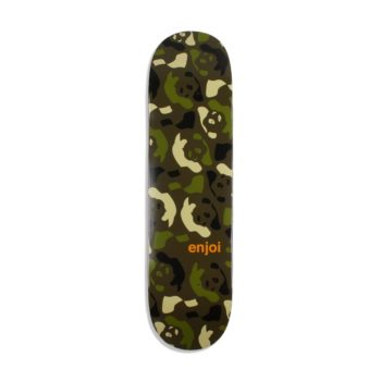 "Enjoi Skateboards Repeater HYB 8.375"" Deck - Green / Camo"