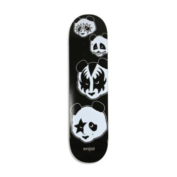 Enjoi Kiss Logo R7 8″ Skateboard Deck – Black