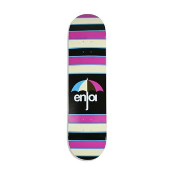 Enjoi Stripes HYB 8″ Skateboard Deck – Purple
