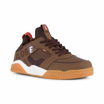 Globe Tilt Evo Shoes - Chestnut / Gum