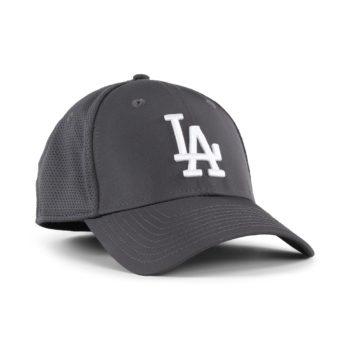 New Era LA Dodgers Featherweight 39Thirty Cap - Graphite