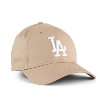 New Era LA Dodgers League Essential 9Forty Cap - Camel / White