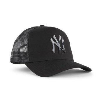 New Era NY Yankees Camo Infill Trucker Cap - Black