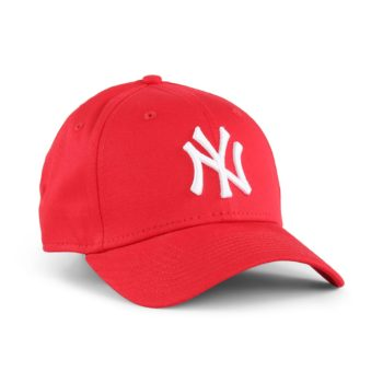 New Era NY Yankees League Essential 9Forty Cap - Red / White