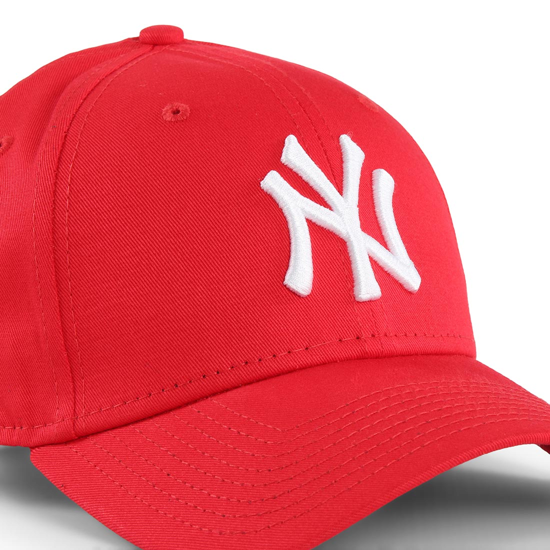 738d5170 New Era NY Yankees League Essential 9Forty Cap - Red / White