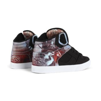 Osiris Clone High Top Shoes – Huit / King / Fire and Ice