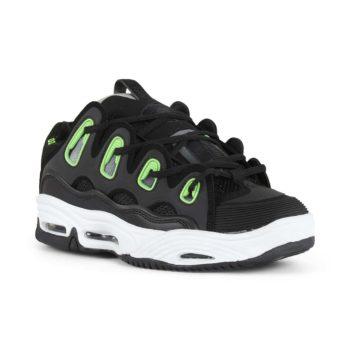Osiris D3 2001 Shoes - Black / White / Green