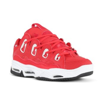 Osiris D3 2001 Shoes – Red / White / Black