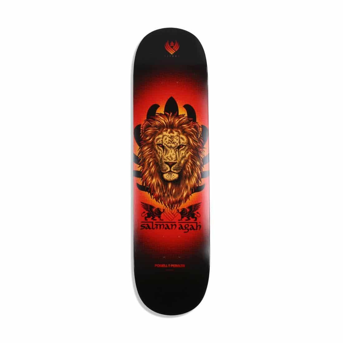 "Powell Peralta Flight 242 Pro Agah Lion 8"" Skateboard Deck - Multi"