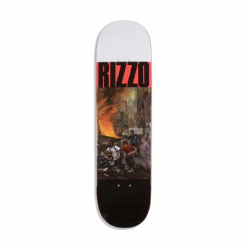"Quasi Skateboards Dick Rizzo ""Run"" Two 8.25"" Deck - Red"